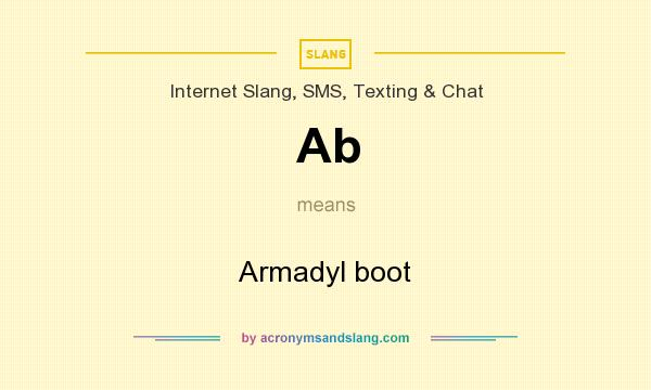 What does Ab mean? It stands for Armadyl boot