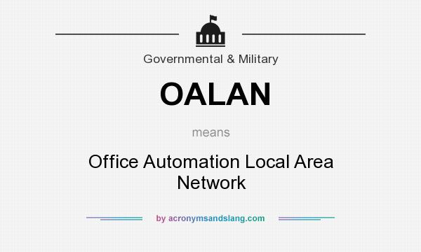 What does OALAN mean? It stands for Office Automation Local Area Network