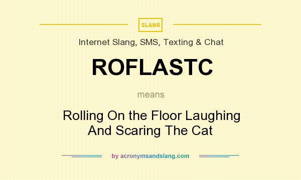What does ROFLASTC mean? It stands for Rolling On the Floor Laughing And Scaring The Cat
