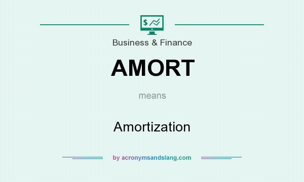 What does AMORT mean? It stands for Amortization
