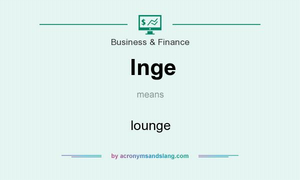 What does lnge mean? It stands for lounge