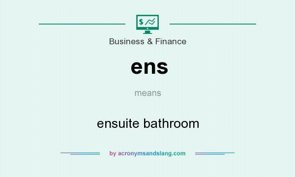 What does ens mean? It stands for ensuite bathroom