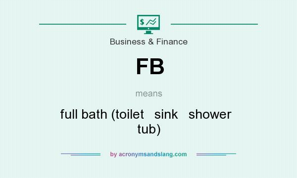 What does FB mean? It stands for full bath (toilet   sink   shower   tub)