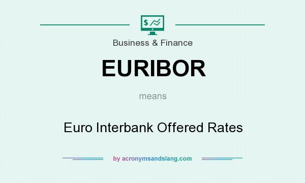 What does EURIBOR mean? It stands for Euro Interbank Offered Rates