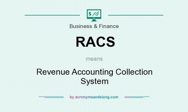 What does RACS mean? It stands for Revenue Accounting Collection System