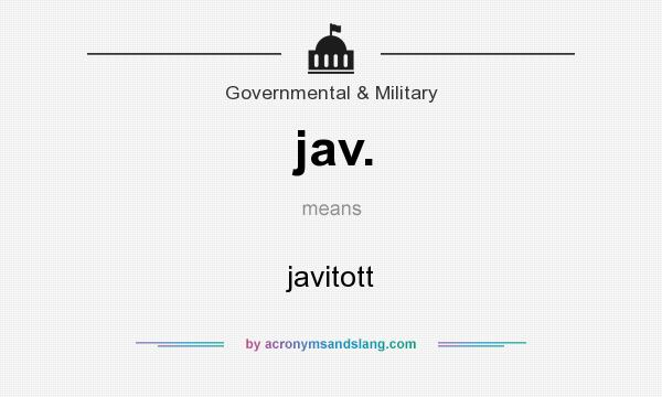 What does jav stand for
