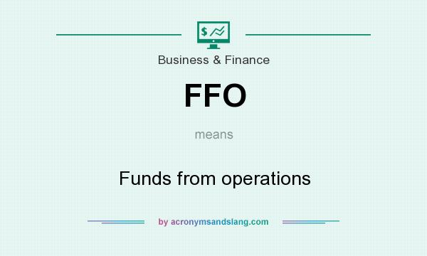 What does FFO mean? It stands for Funds from operations