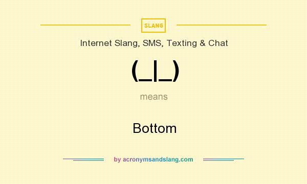 What does (_|_) mean? It stands for Bottom