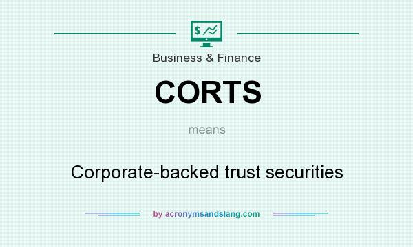 What does CORTS mean? It stands for Corporate-backed trust securities