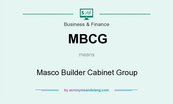 MBCG - Masco Builder Cabinet Group in Business & Finance by ...