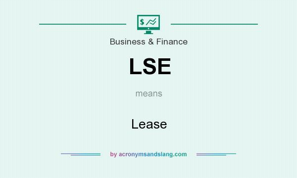 What does LSE mean? It stands for Lease