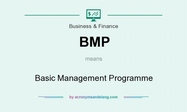 What does BMP mean? It stands for Basic Management Programme