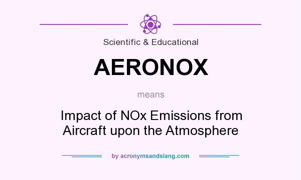 What does AERONOX mean? It stands for Impact of NOx Emissions from Aircraft upon the Atmosphere
