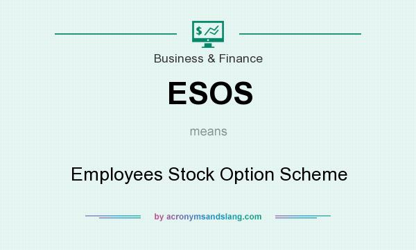 What does ESOS mean? It stands for Employees Stock Option Scheme