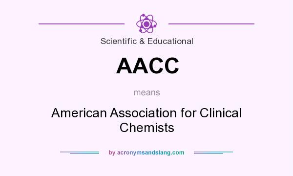 What does AACC mean? It stands for American Association for Clinical Chemists
