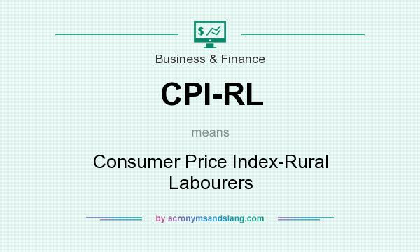 What does CPI-RL mean? It stands for Consumer Price Index-Rural Labourers