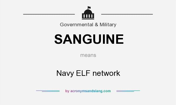 What does sanguine