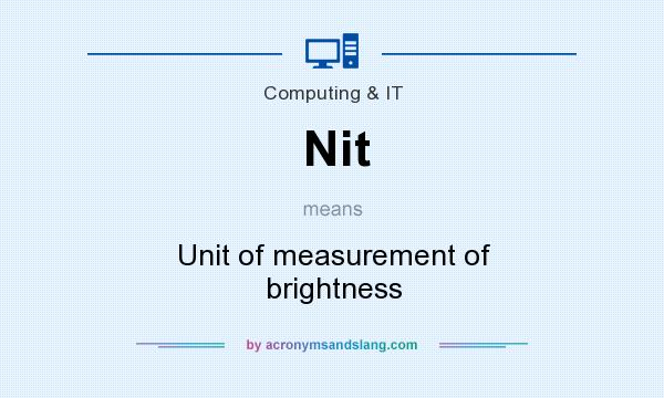 nit meaning