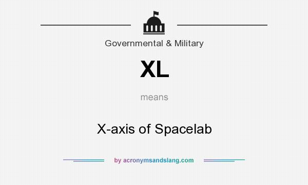 What does XL mean? It stands for X-axis of Spacelab