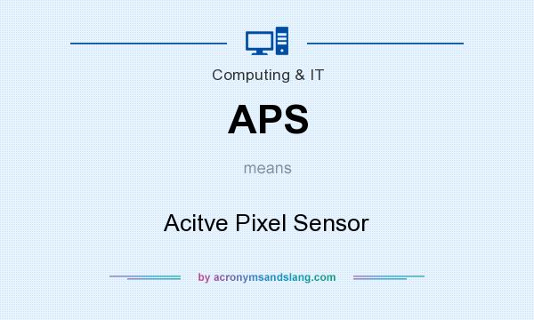 What does APS mean? It stands for Acitve Pixel Sensor
