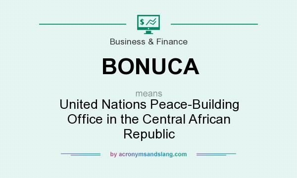 What does BONUCA mean? It stands for United Nations Peace-Building Office in the Central African Republic