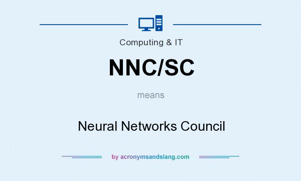 What does NNC/SC mean? It stands for Neural Networks Council