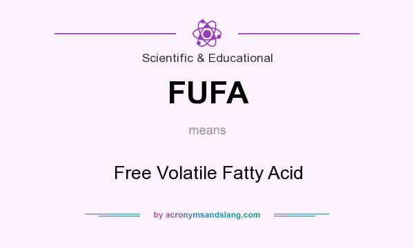 What does FUFA mean? It stands for Free Volatile Fatty Acid