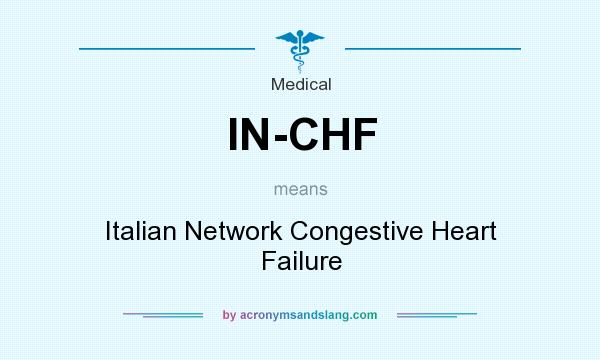 In Chf Italian Network Congestive Heart Failure Medical