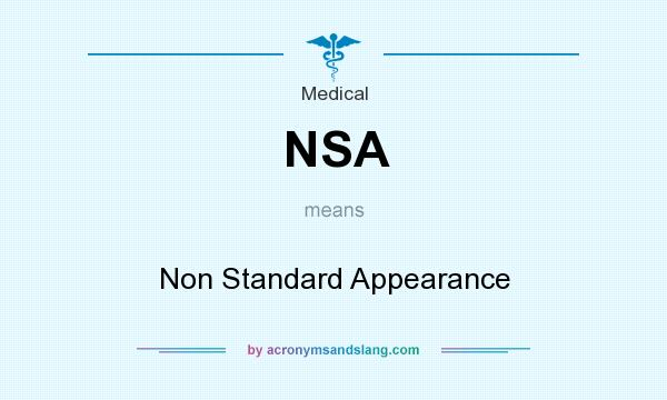 Abbreviation for nsa