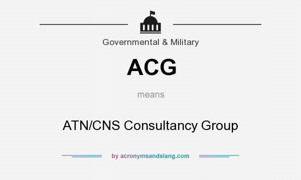 What does ACG mean? It stands for ATN/CNS Consultancy Group