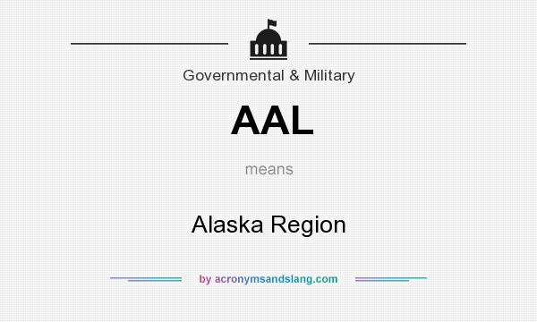 What does AAL mean? It stands for Alaska Region