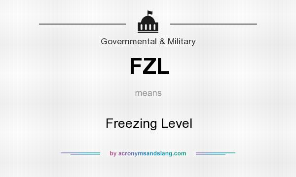 What does FZL mean? It stands for Freezing Level