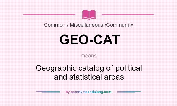 What Does Geography Mean Driverlayer Search Engine