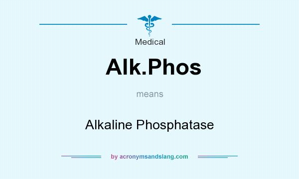 What does Alk.Phos mean? It stands for Alkaline Phosphatase