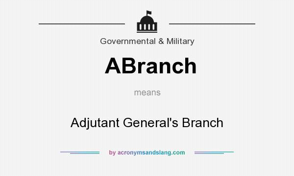 What Does ABranch Mean