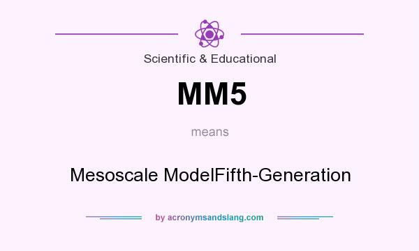 What does MM5 mean? It stands for Mesoscale ModelFifth-Generation