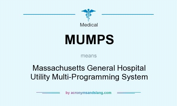 What does MUMPS mean? It stands for Massachusetts General Hospital Utility Multi-Programming System