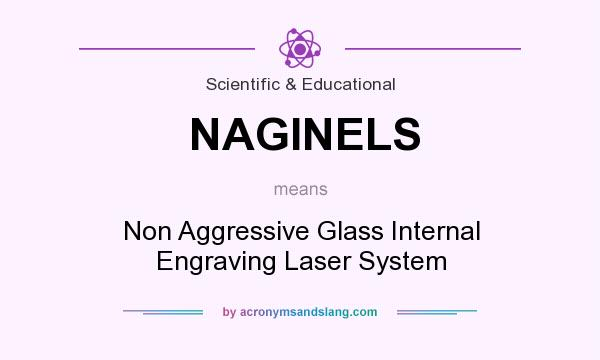 What does NAGINELS mean? It stands for Non Aggressive Glass Internal Engraving Laser System