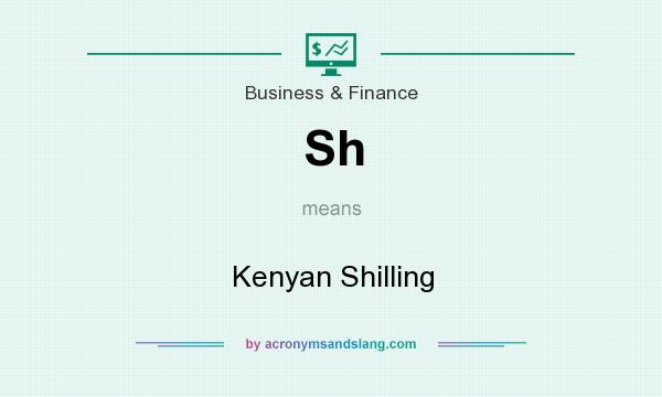 What does Sh mean? It stands for Kenyan Shilling