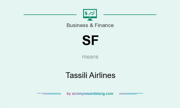 What does SF mean? It stands for Tassili Airlines