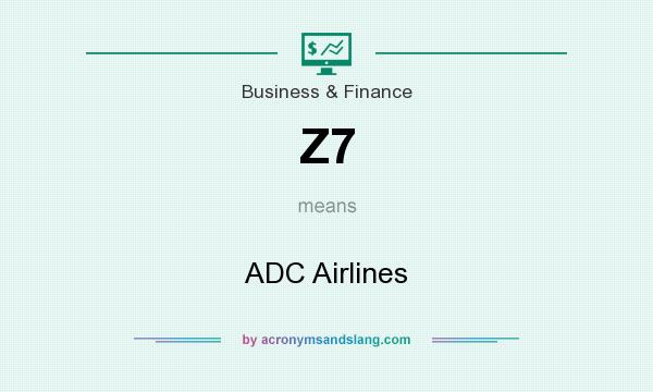 What does Z7 mean? It stands for ADC Airlines