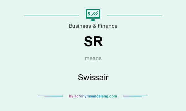 What does SR mean? It stands for Swissair