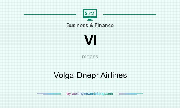 What does VI mean? It stands for Volga-Dnepr Airlines