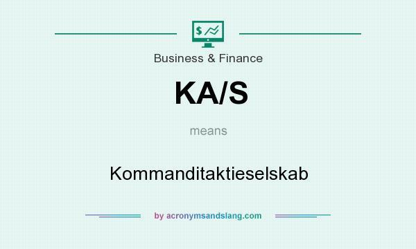 What does KA/S mean? It stands for Kommanditaktieselskab