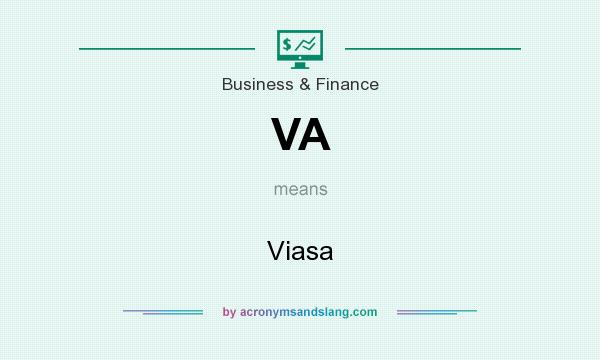 What does VA mean? It stands for Viasa