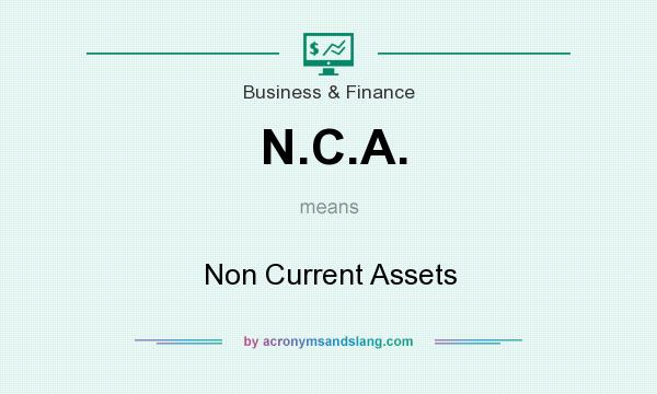 What does N.C.A. mean? It stands for Non Current Assets