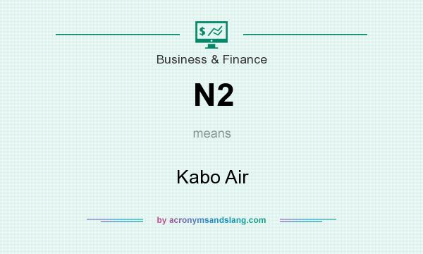What does N2 mean? It stands for Kabo Air