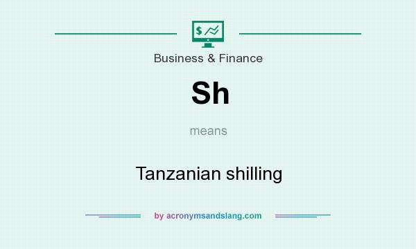 What does Sh mean? It stands for Tanzanian shilling