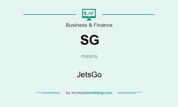 What does SG mean? It stands for JetsGo