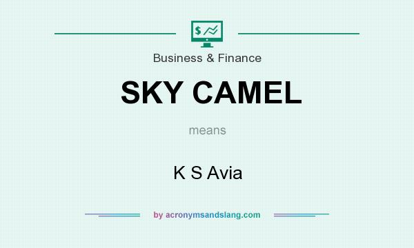 What does SKY CAMEL mean? It stands for K S Avia